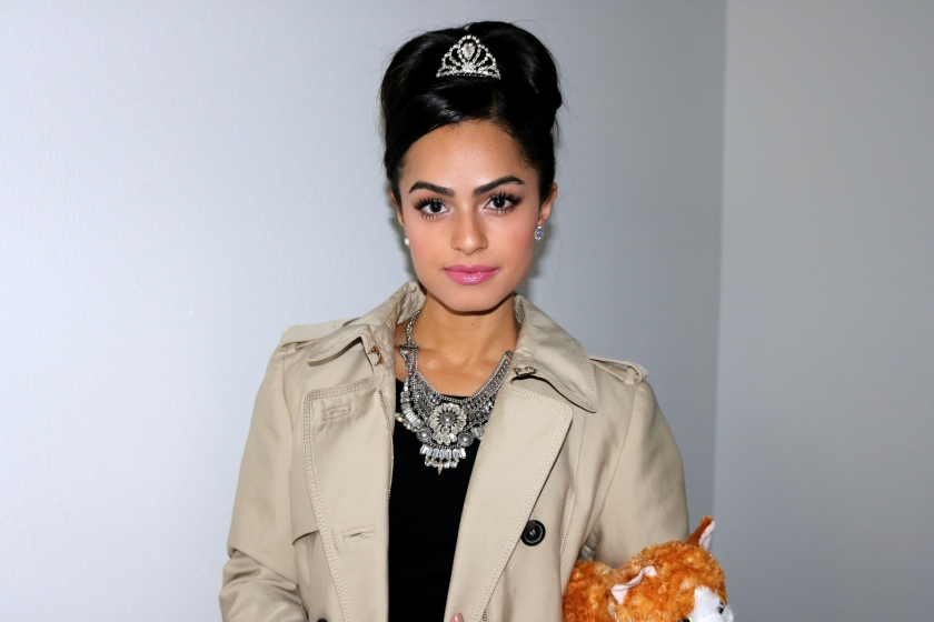 Audrey Hepburn Cat Named Cat