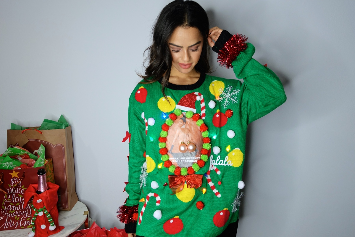 Extremely ugly christmas sweaters